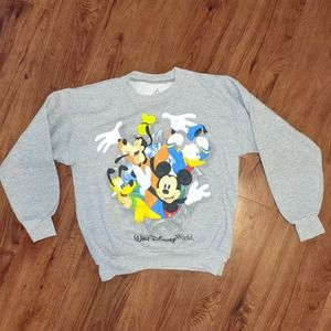 Walt Disney World Gray Sweatshirt Size M
